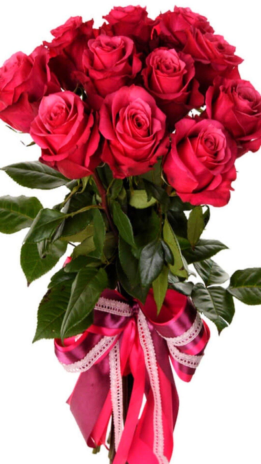 Иришке розы открытка