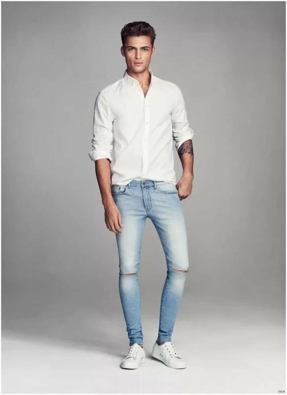 белая рубашка и джинсы картинки является китайским