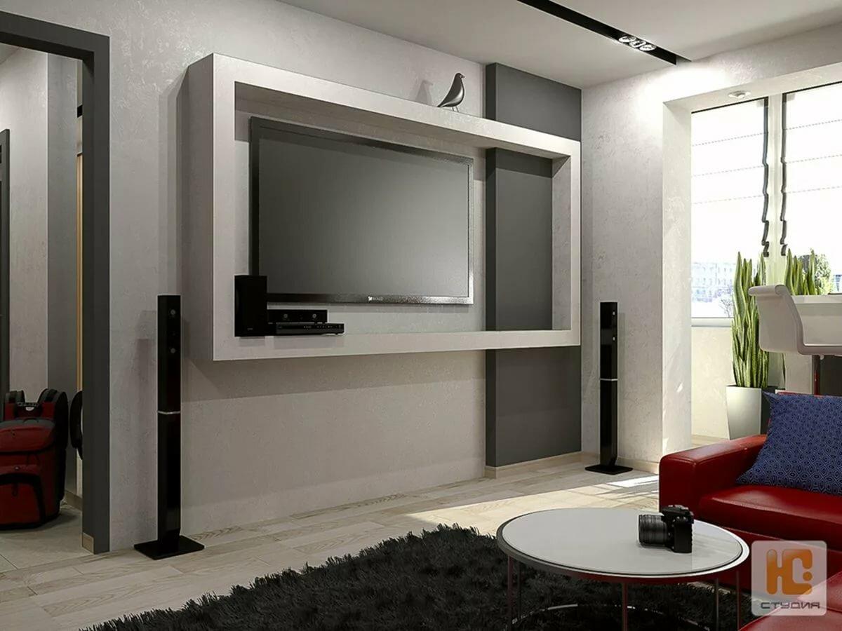 Телевизор в нише картинки