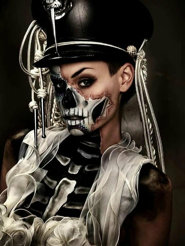 Картинки черепа и скелеты с девушками