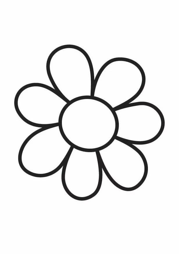 Юбилеем сада, картинки для раскраски цветочки