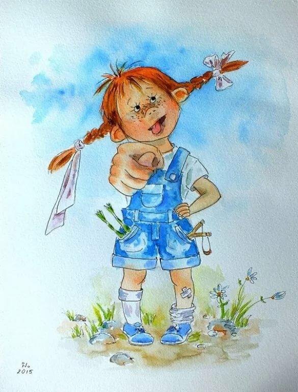 Английским, смешные картинки нарисованные девочек
