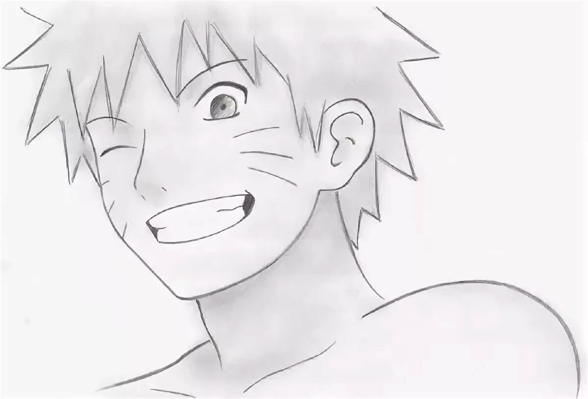Рисунки аниме наруто карандашом для начинающих