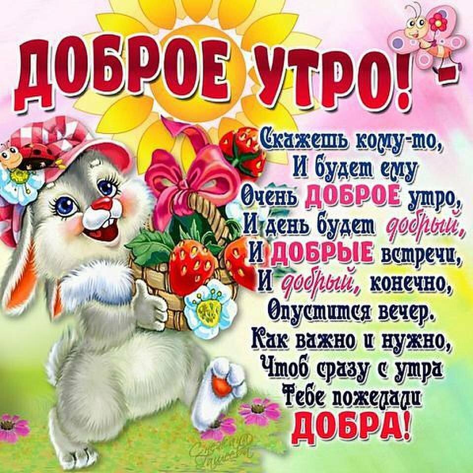 Красивые картинки смешные пожелания доброго утра, картинки для детей