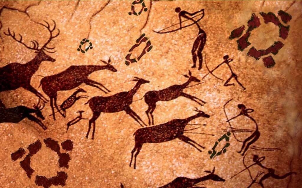 Первобытное искусство неолит картинки