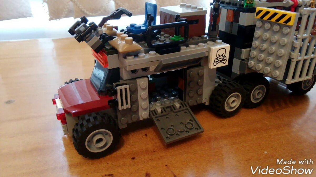 Покажи мне машины из лего техник новинки зомби апокалипсис