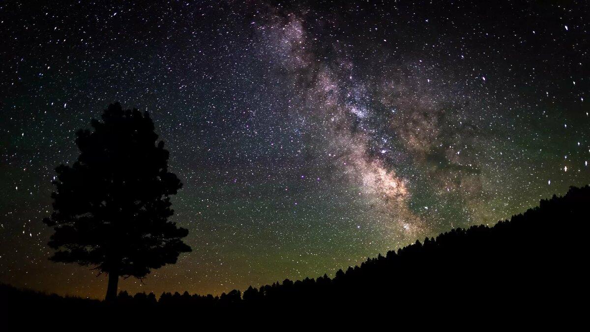 фото млечного пути на небе тех пор прошла