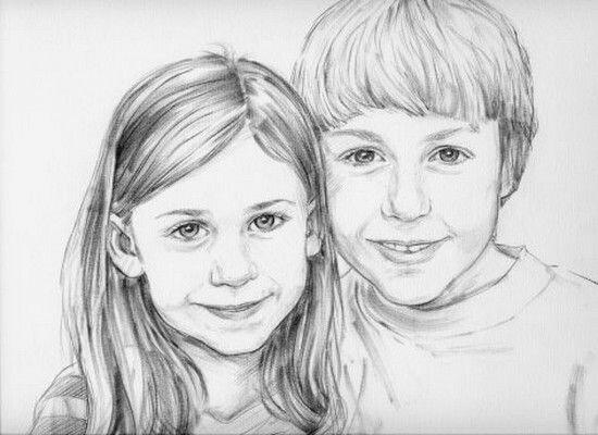 картинки для брата от сестры нарисовать