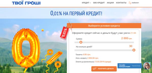 Кредит без справок о доходах онлайн