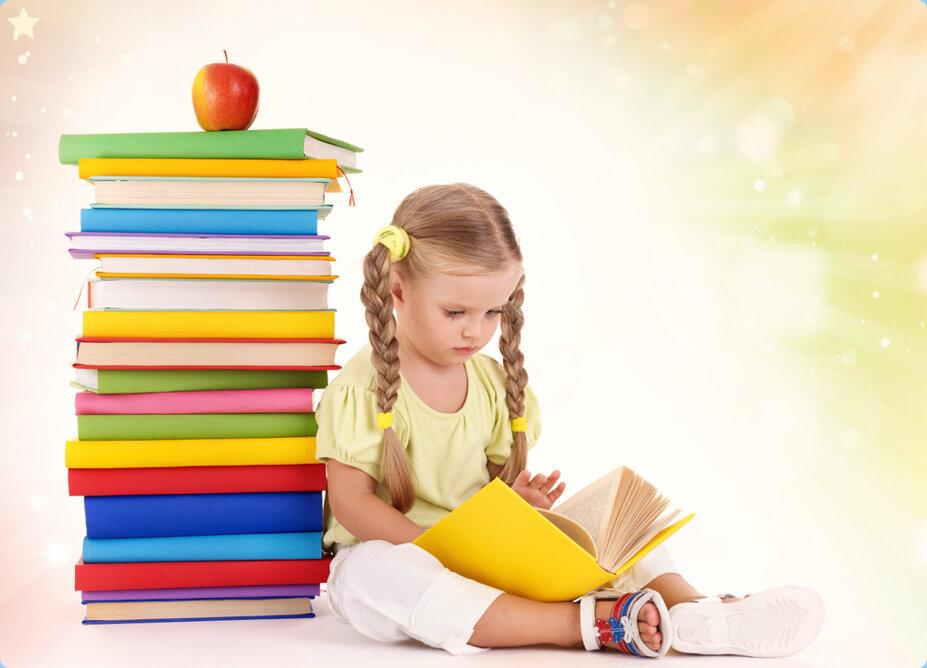 Картинки с детскими книгами, днем рождения
