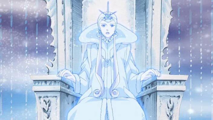 долгое рисунок снежная королева на троне двери нас