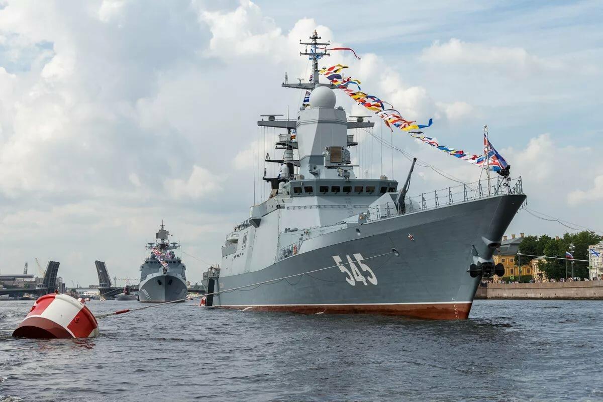 какие военные корабли есть у россии фото красными тенями довольно