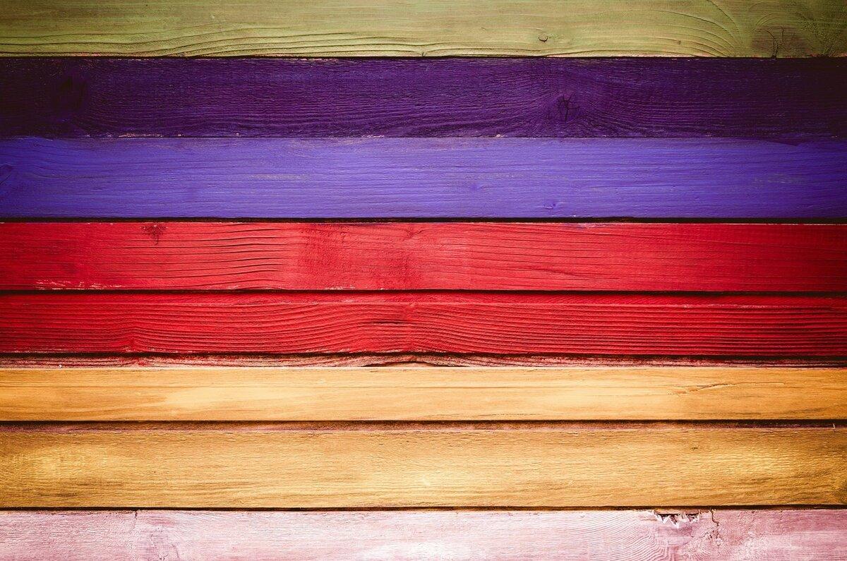 пляж картинка разноцветных досок заметить