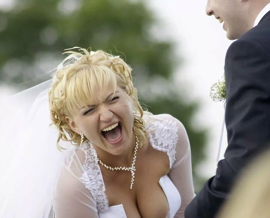 Смешная картинка про невесту