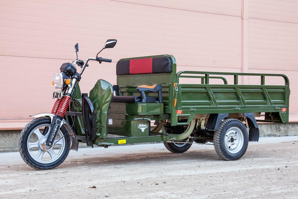 Трёхколёсный грузовой электротрицикл Рутрайк