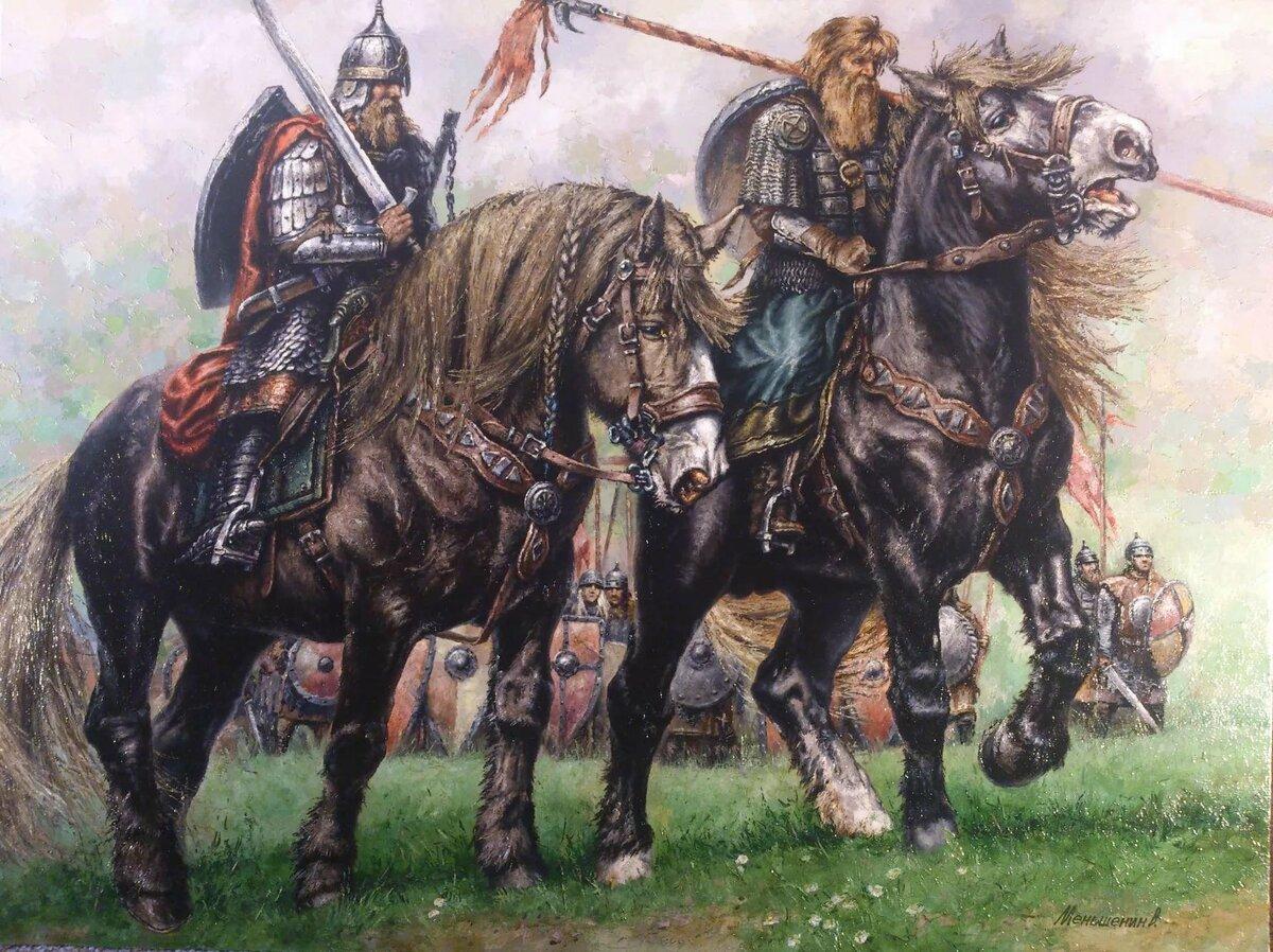 Картинки битва славянские