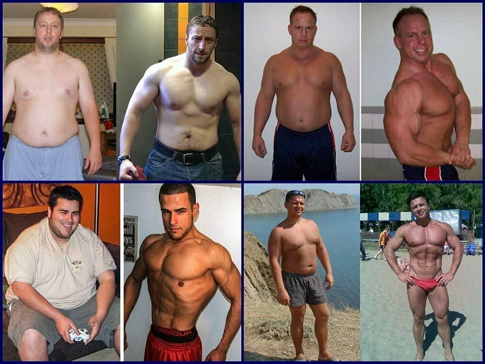 Система похудения мужчин