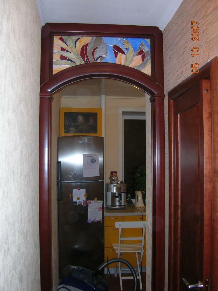 лишь фото дверей арок на кухню вами