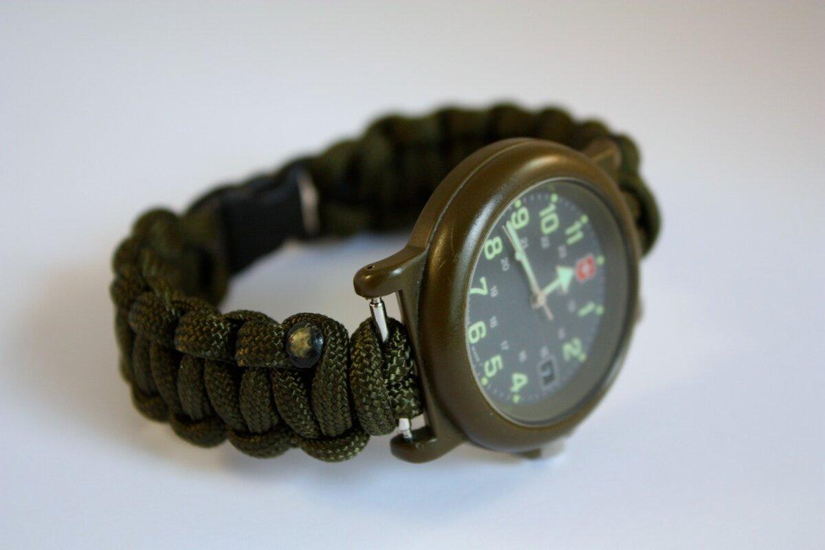 Тактические часы Xinhao Paracord Watch в Алзамае