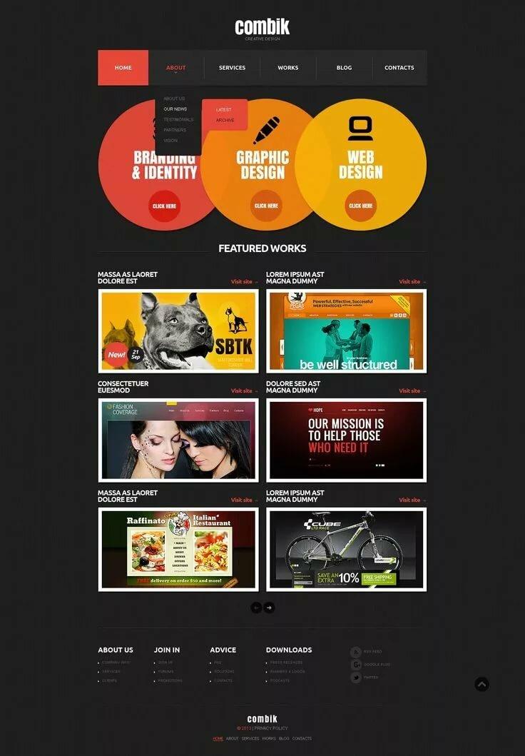 Design fetish site web web porno angelina