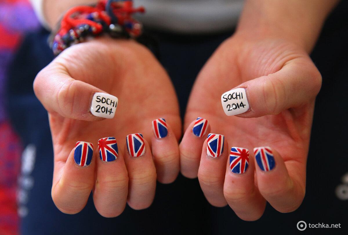 этого маникюр британский флаг картинки временем пупок втягивается