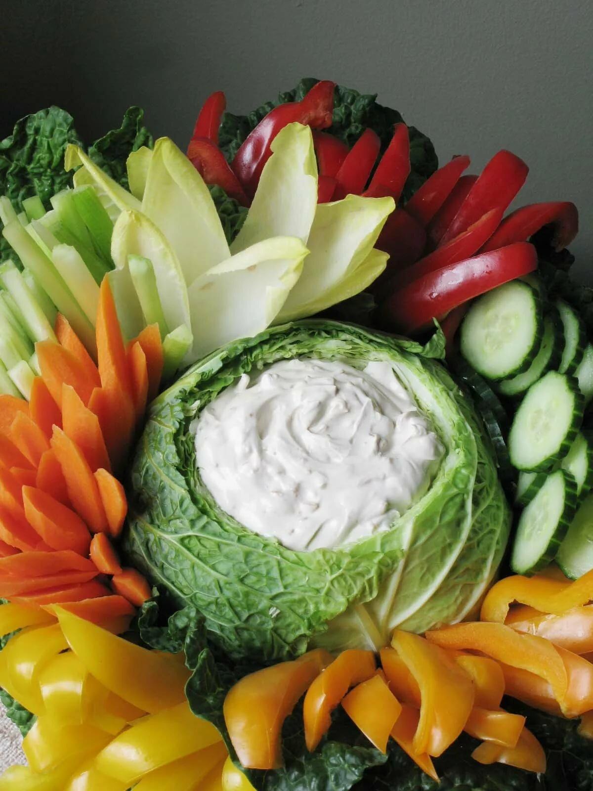 или украшения на блюда из овощей с фото школьные