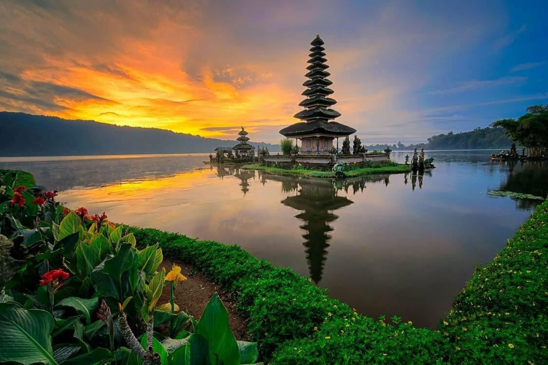 Картинки индонезия бали, люблю целую открытка