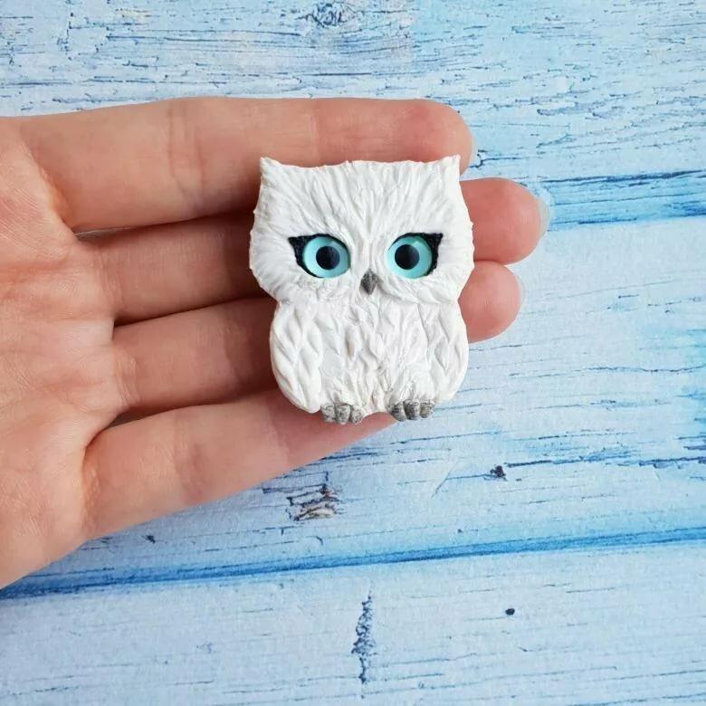 находит картинки для брошек из полимерной глины можно сделать