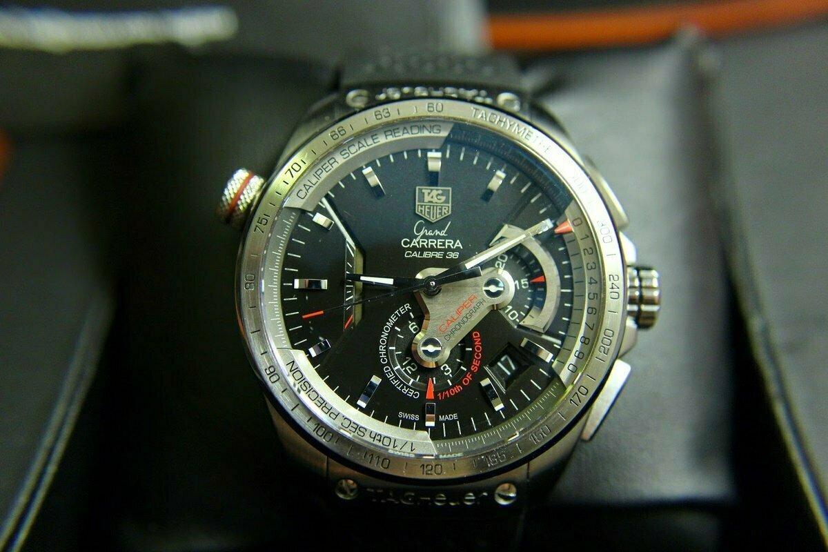 Часы Tag Heuer Carrera Calibre 36 в Копейске