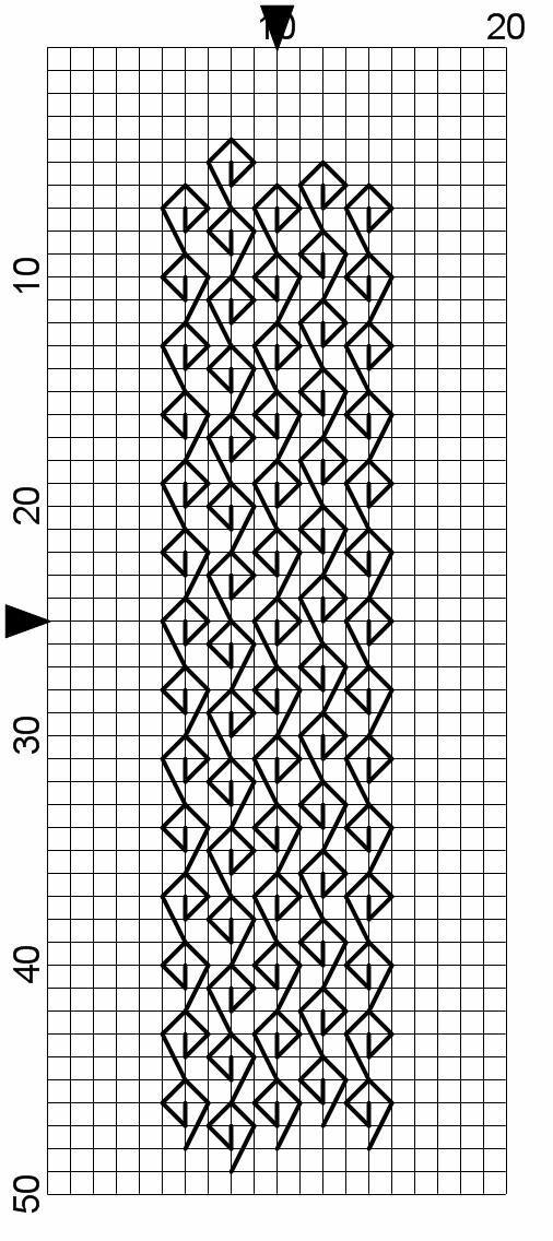 лаваша картинки красивые узоры по клеточкам могут