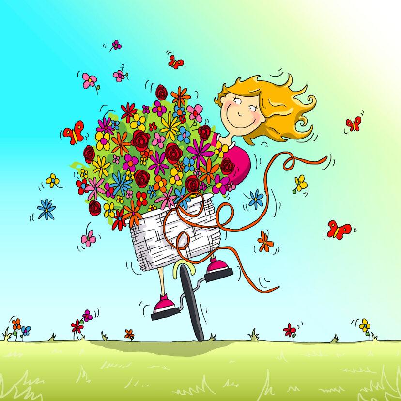 С днем рождения позитивная открытка, картинки девушки эквестрии