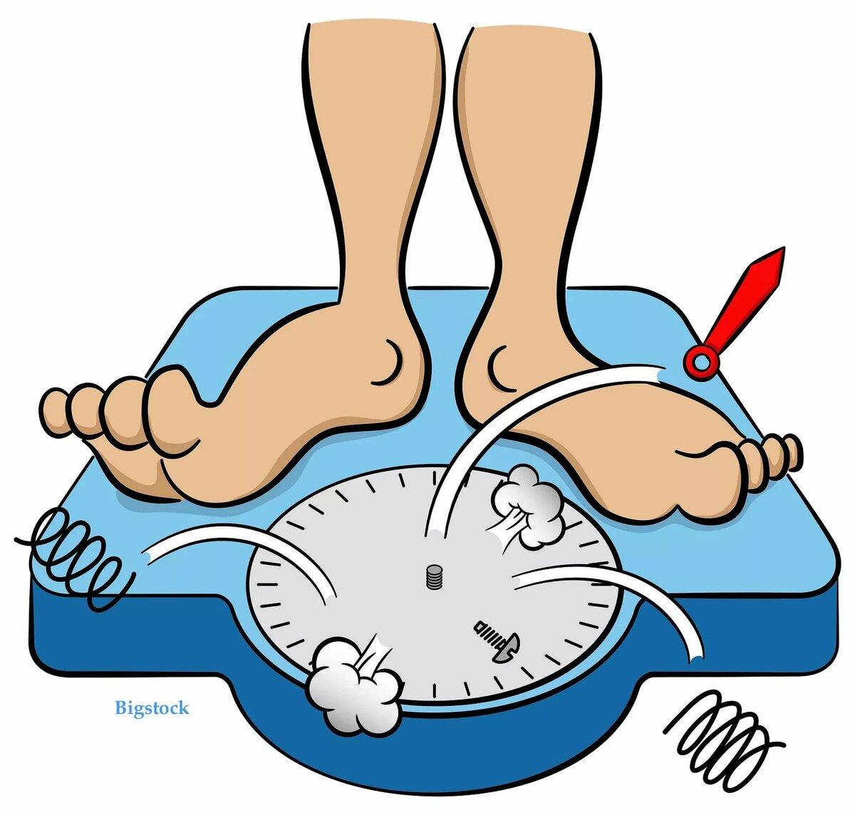 Рисунки прикольные весы