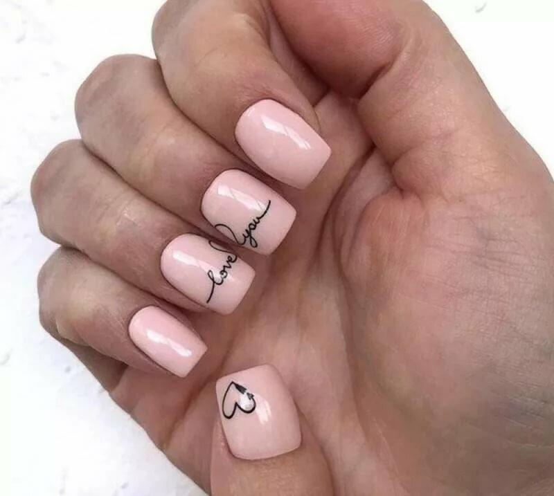 Картинки ногти с надписью, аве надписями