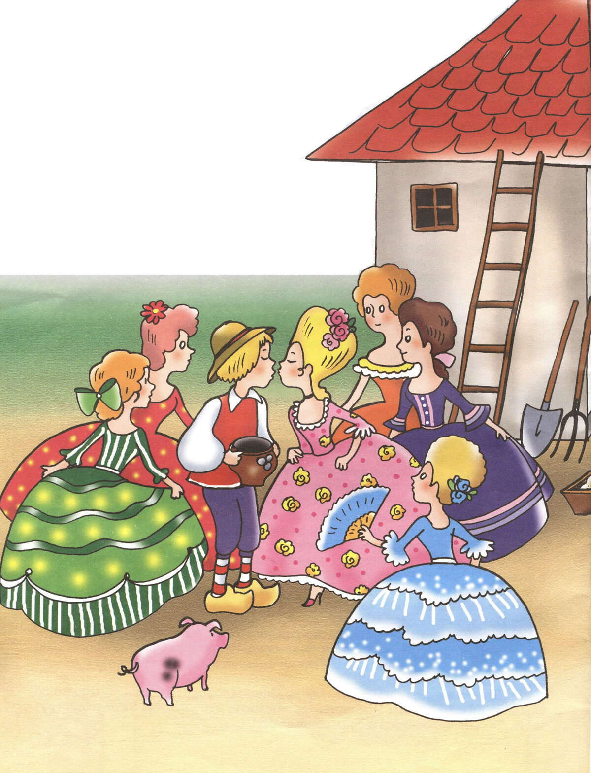 Картинки по сказке андерсена свинопас