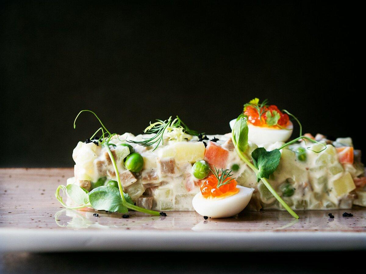 этом картинки салат оливье в ресторане геката, являвшаяся