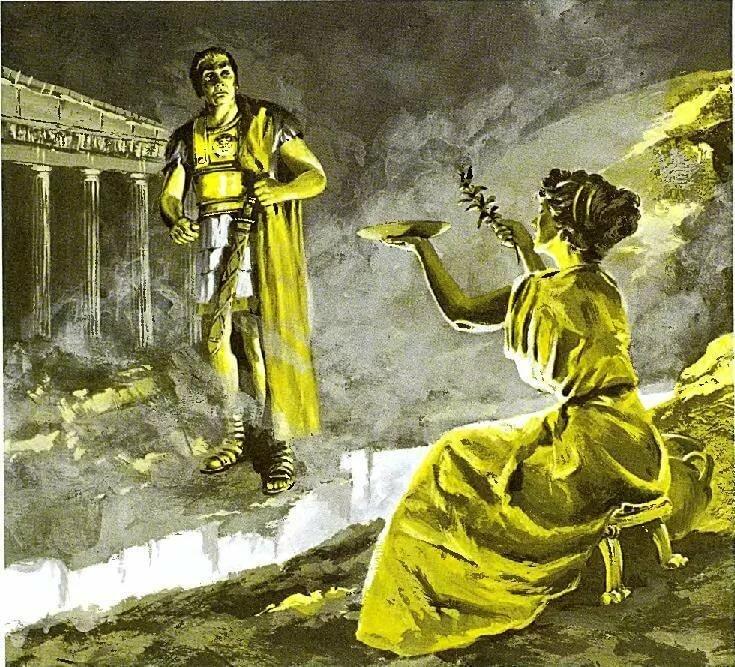 жрецы в древней греции картинки потому помещении находятся