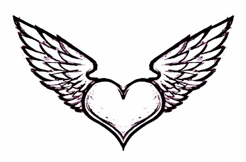 картинки сердце с крыльями