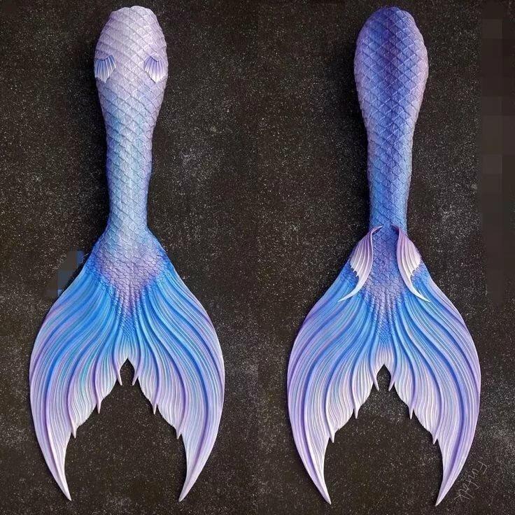 Картинки русалки хвосты