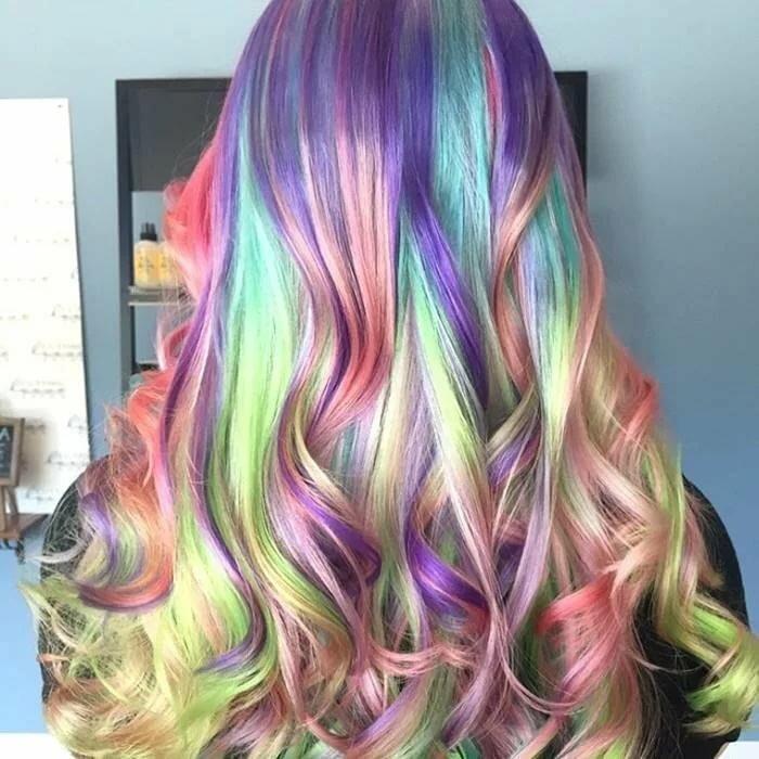 Краска для волос прикольные картинки
