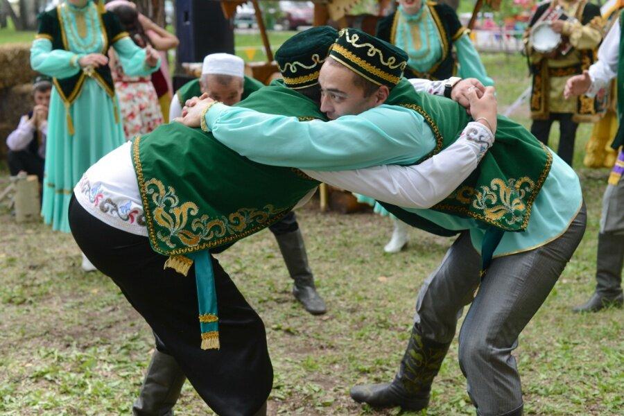 Народные татарские игры картинки
