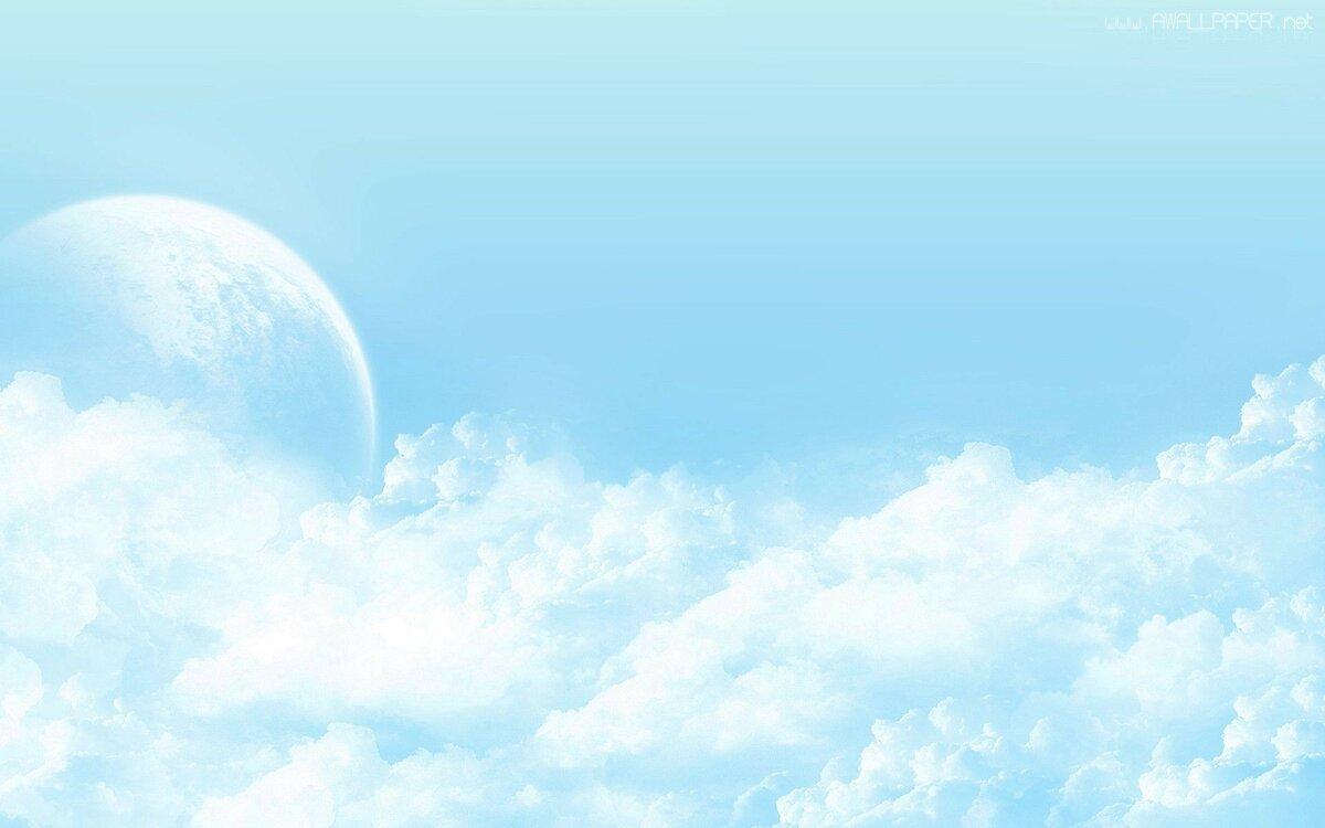Голубой фон неба картинки