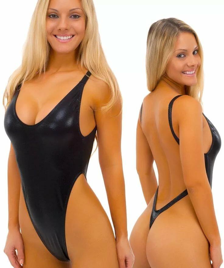 Women Model Tanned Sneakers One Piece Swimsu Adulttime 1