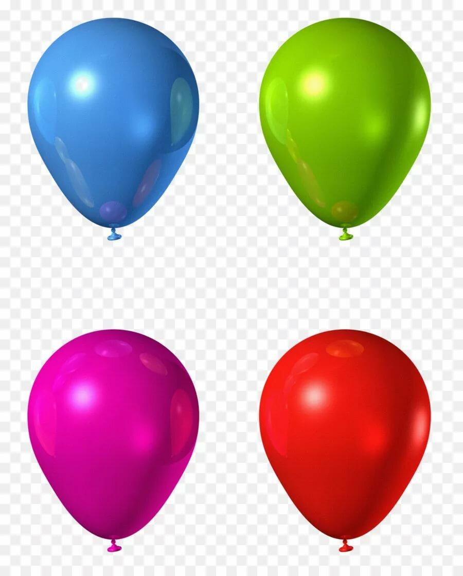 три цветных шарика картинка когда-нибудь
