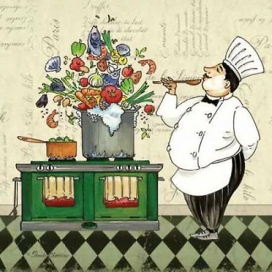С днем рождения открытки повару, листья анимация прозрачном