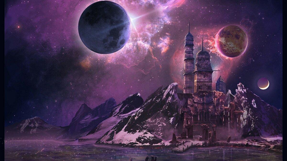 Космос фантастические картинки