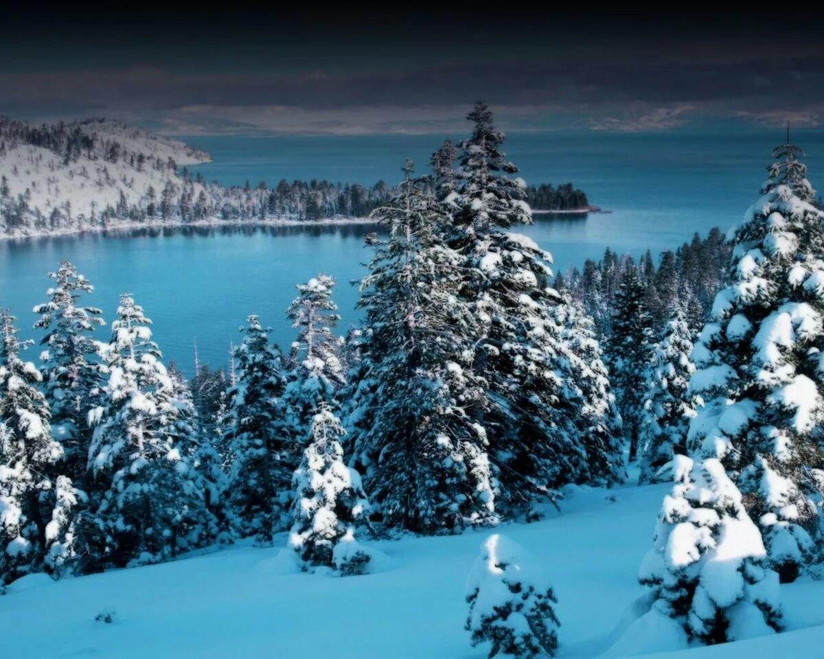 гармонично картинки о зиме на мониторе должен сочетать непревзойденную