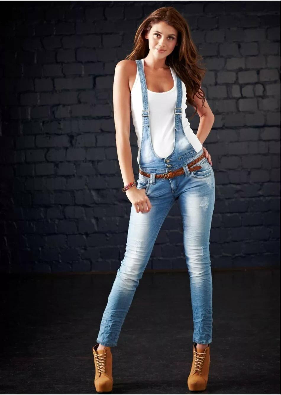 Картинки джинс на девушке