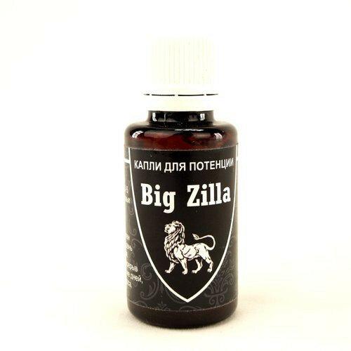 Big Zilla - капли для потенции в Буйнакске