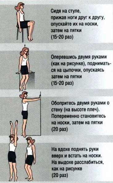 упражнения для нижних конечностей картинки медицине