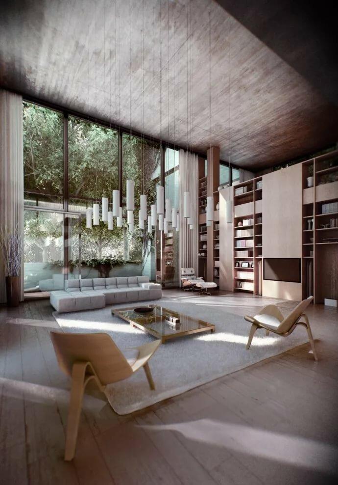 Конструктивизм внутри домов фото